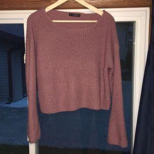 Pink Zaful sweater